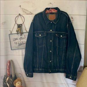 Levi's; Blue Jean Jacket; 3XL